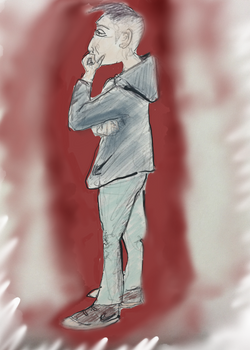 Random speed sketch