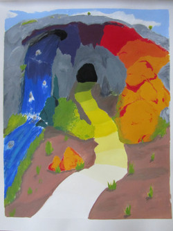 ColorTheory_Prismatic Color Cave