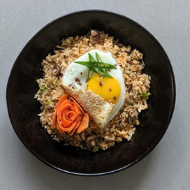 Korean Egg Fried Rice : Blue Label