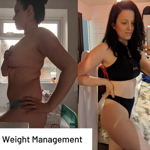 """""""I've lost almost 8.5 kg in 16 weeks and I don't have any fear of regaining the weight. It honestly hasn't even felt like I've been on a diet."""""""