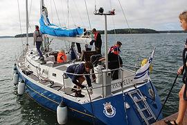 Meripartiolippukunta Ruoripojat purjehtii