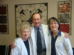 Kathy, Dr. H and Debbie