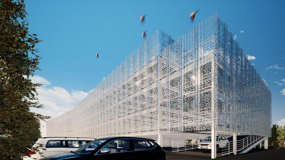 Parking Silo Airbus