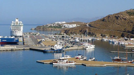 Extension portuaire Mykonos