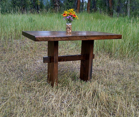Mini Trestle Dining Table