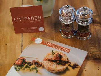 """Kochen, sich nähren und genießen - das Kochbuch """"Power of nature"""" aus der LIVINFOOD-Reihe"""