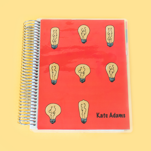 Light Bulb Teacher Planner