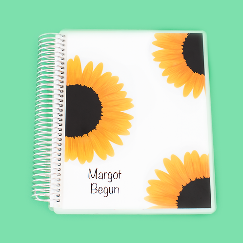Sunflower Teacher Planner