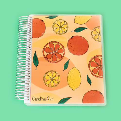 Orange Lemonade Academic Planner