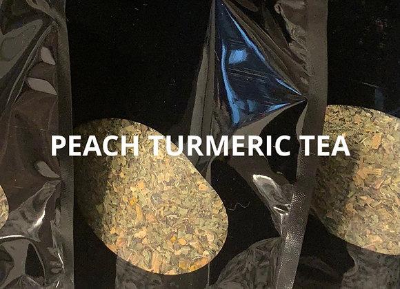 Peach Turmeric Tea