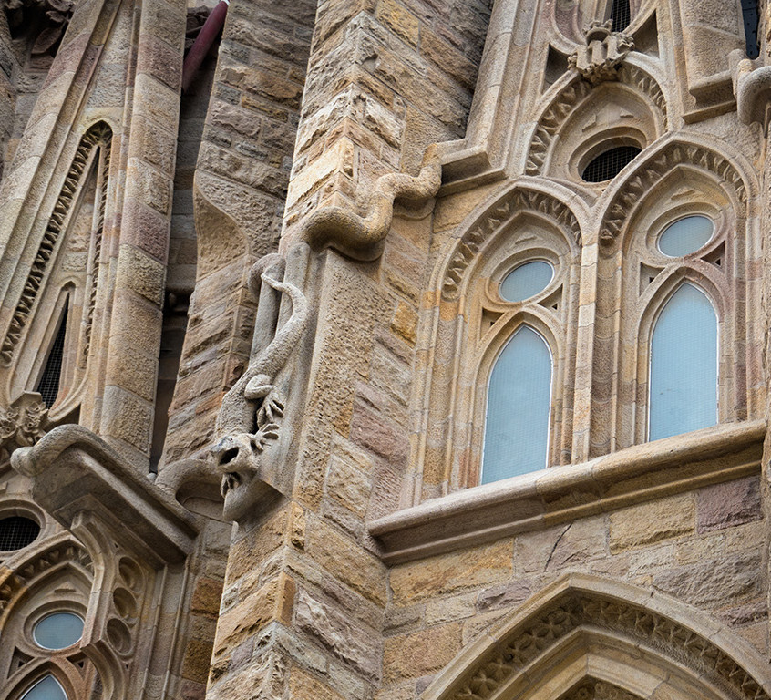 Sagrada Família Designed by Gaudi