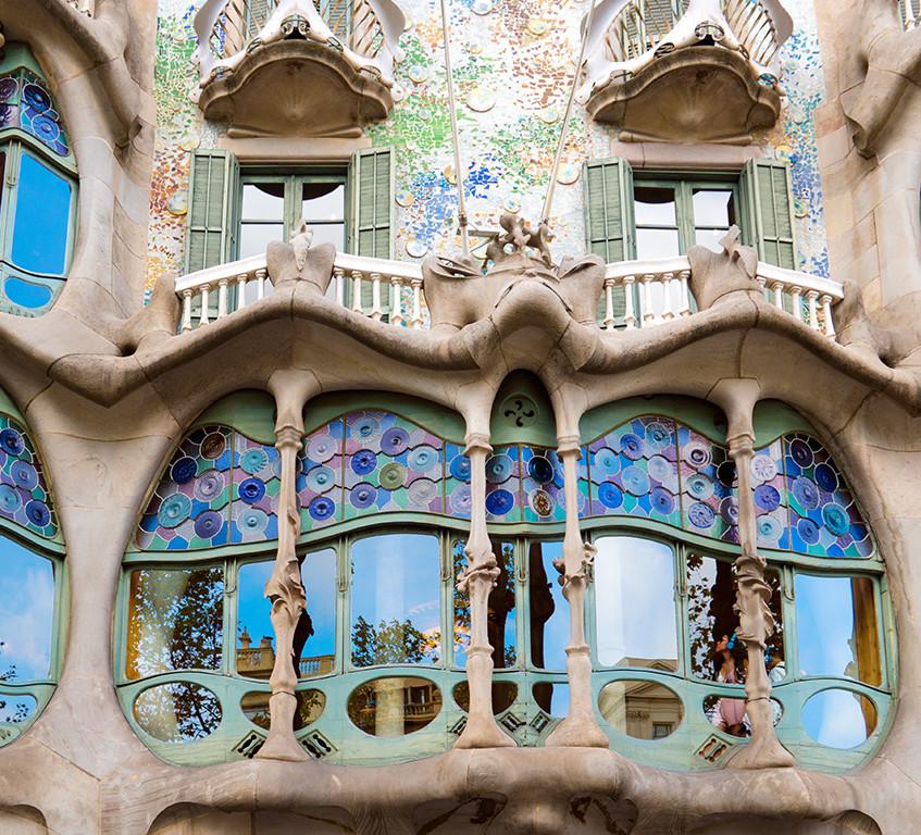 Gaudi's Casa Batllo Exterior