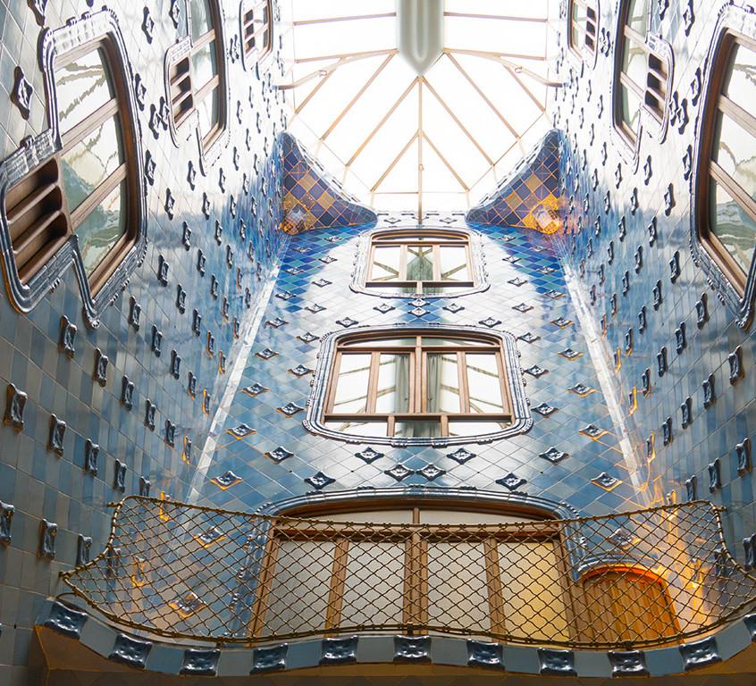 Batllo Tile Work by Gaudi