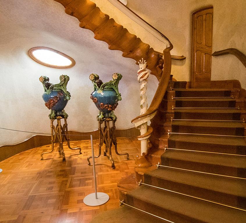 Gaudi's Interior Design
