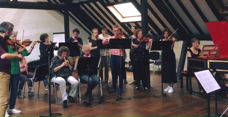 Une partie de l'orchestre 2019