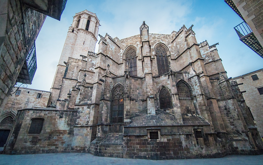 Barcelona's Ciutat Vella (Old City) is one of the largest medieval city areas in Europe.