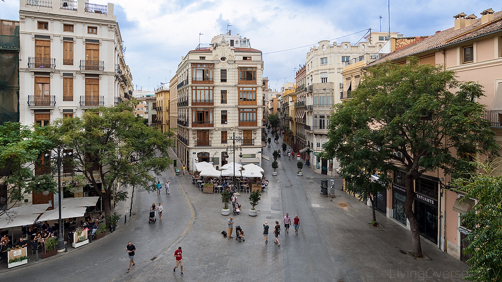 The Old City of Valencia, Spain