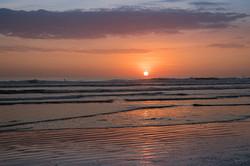 Sunset at Montanita