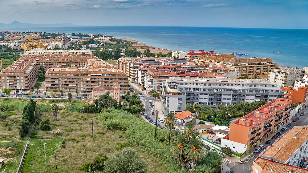Denia Spain offers many sea side living options including affordable condos and single family homes.