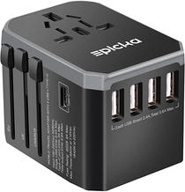 EPICKA Universal Travel Adapter One International Wall Charger
