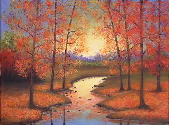 Clarke- Fall Sunrise