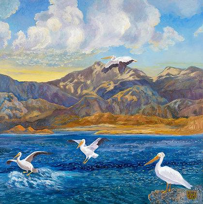 Kreyeski- Pelicans Homecoming Diptypch