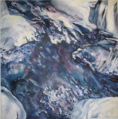 Partridge- Beneath the Ice the River Flows