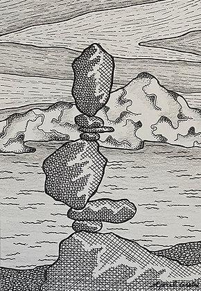 Gratrix- Balanced Rock Sculpture III