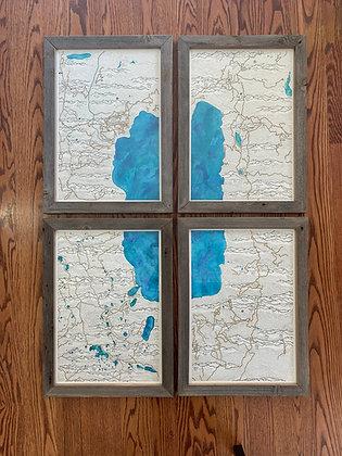 Merrell- Tahoe Basin Trail Map