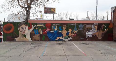Junkee, Mural by Asa Kennedy