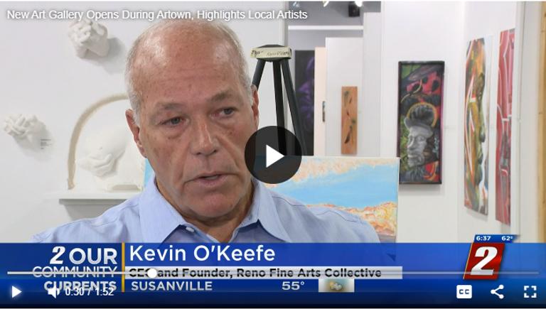 Channel 2 Reno Fine Arts Collective