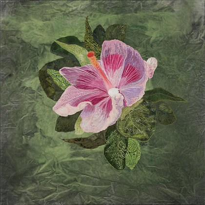 Gardner- Pink Hibiscus