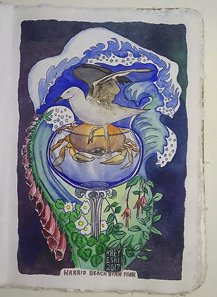 Kreyeski- Crab and Gull