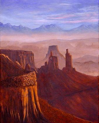 Clarke- Canyon Lands at Sunrise