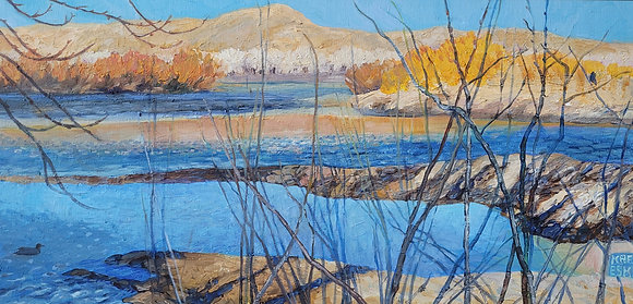 Kreyeski- Walking Carson River