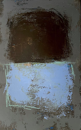 Handau- Umber and Blue Blocks