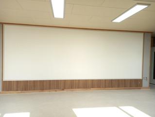 고등학교 매직스크린 교실 디자인