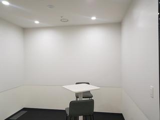다국적 빔프로젝트 본사 회의실