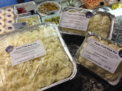 Fyne fish's Oven ready fish pies