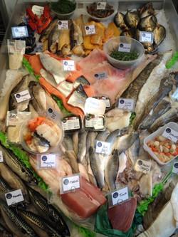 Fyne fish fresh fish counter
