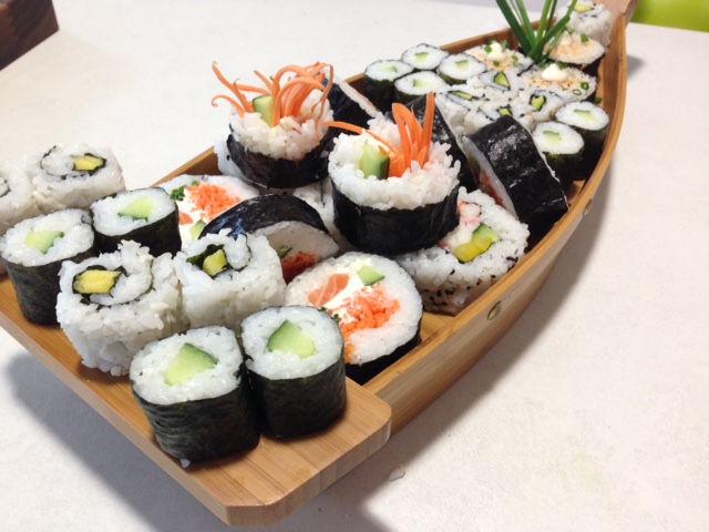 Sushi School.  Jan 31st 2016