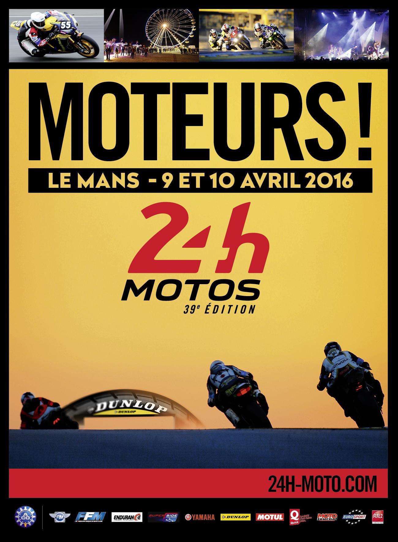 24H DU MANS MOTOS