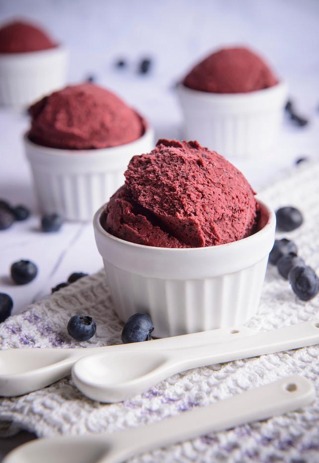 Blueberry Ice Cream