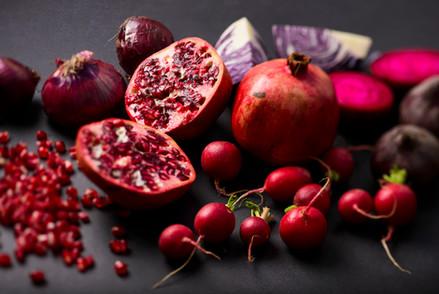 Red Veggies & Fruits