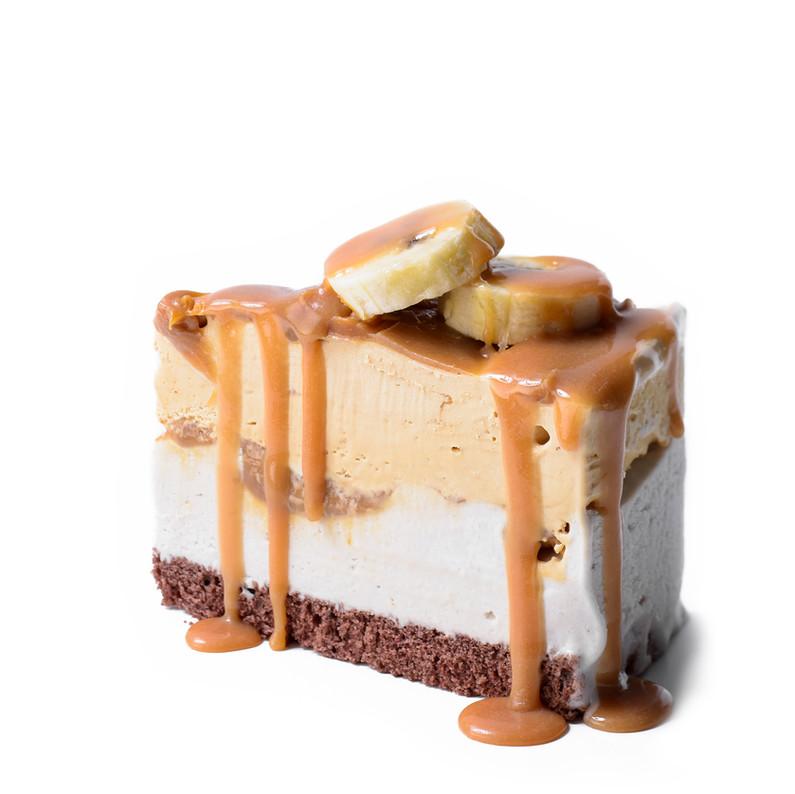 Banana Ice Cream Cake