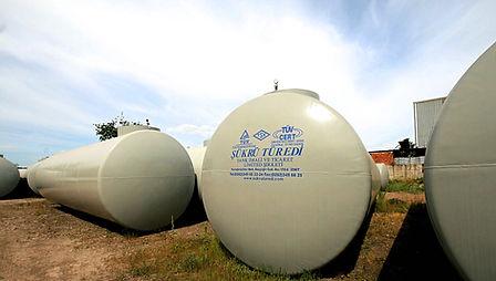 Çift cidar yer altı depolama tankı