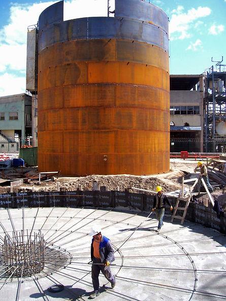 Akaryakıt saha / terminal tank çalışmaları