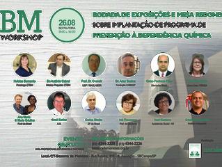 CTBM promove Workshop sobre Dependência Química com profissionais renomados da área.