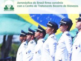 Aeronáutica do Brasil firma convênio com o Bezerra de Menezes.