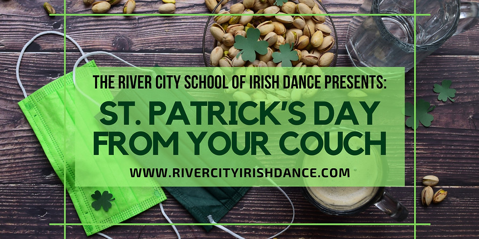 ST. PATRICKS DAY FROM YOUR COUCH